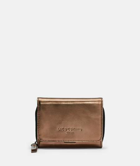 Medium-sized wallet with metallic leather from liebeskind