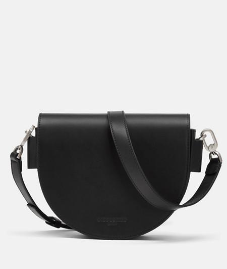 Tasche in halbrunder Form