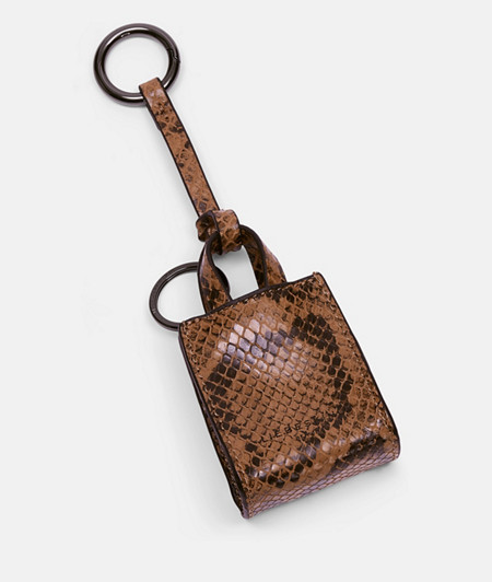 Key-ring with a snakeskin look from liebeskind