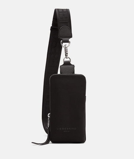 Sling bag made of recycled nylon from liebeskind