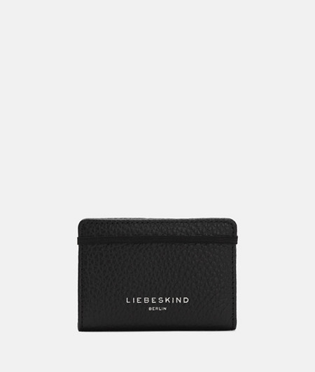 Card holder made of grained smooth leather from liebeskind