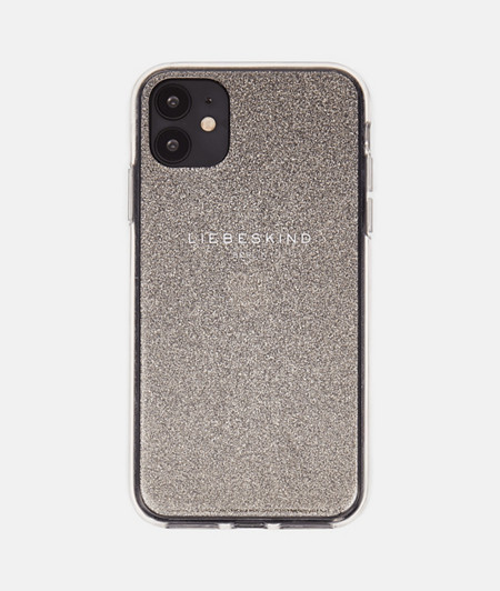 Flexible smartphone case with glitter particles from liebeskind