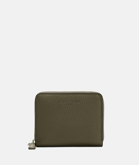 Grained smooth leather wallet from liebeskind