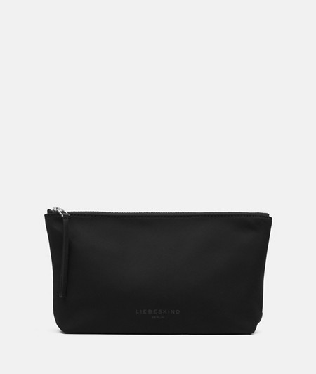 Cosmetics case made of recycled nylon from liebeskind
