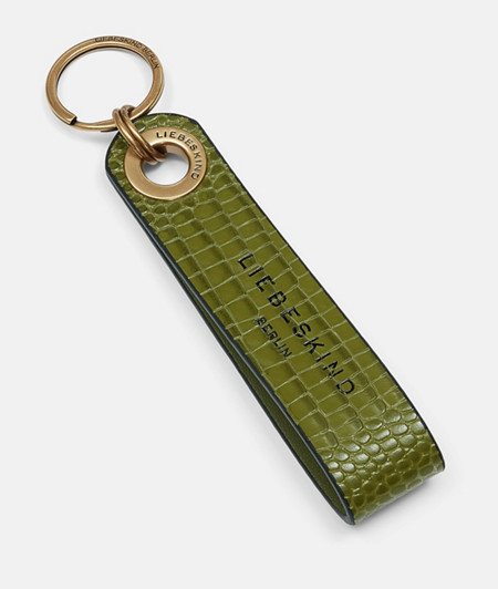 Key-ring with a lizard pattern from liebeskind