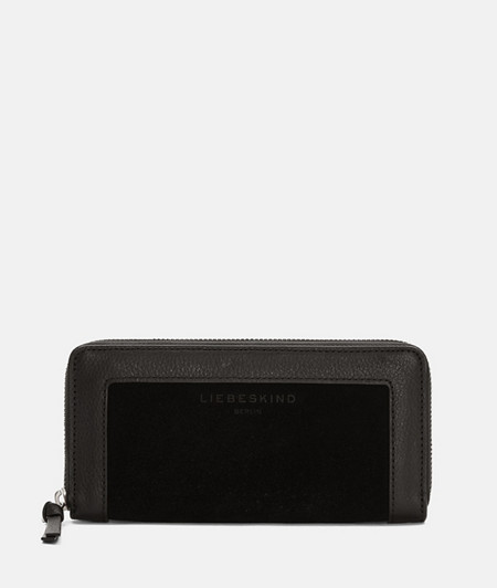 Large suede purse from liebeskind