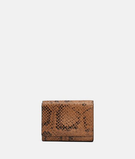 Small wallet with a snakeskin pattern from liebeskind