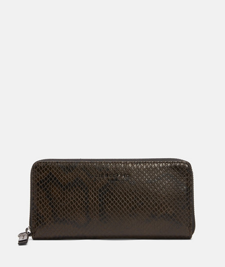 Purse with a snakeskin pattern from liebeskind