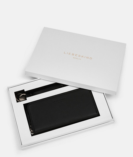 Gift set with a large purse and key-ring from liebeskind