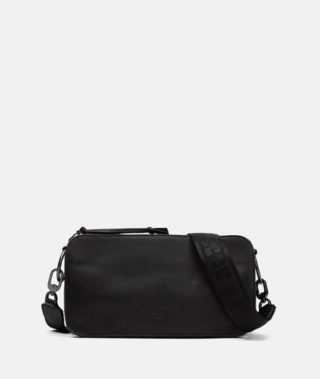 mittelgroße Crossbody Bag aus Leder