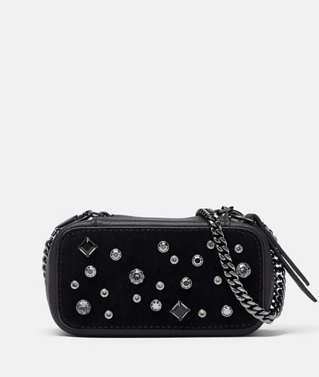 elegante Mini Bag veredelt mit Kristallen von Swarovski®