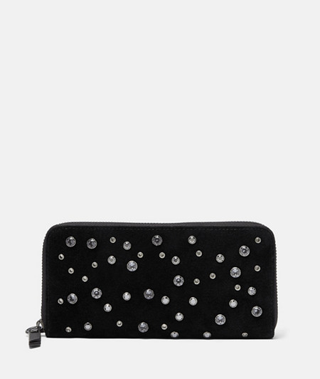 Luxurious purse embellished with Swarovski® crystals from liebeskind