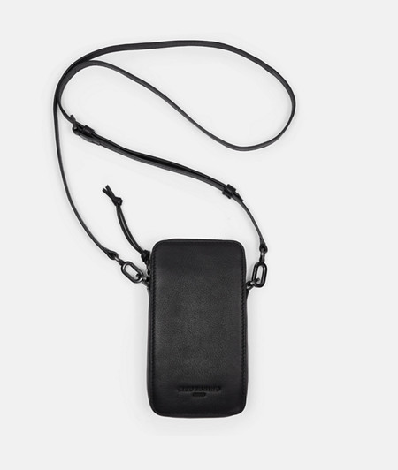 Practical cross-body smartphone pouch from liebeskind