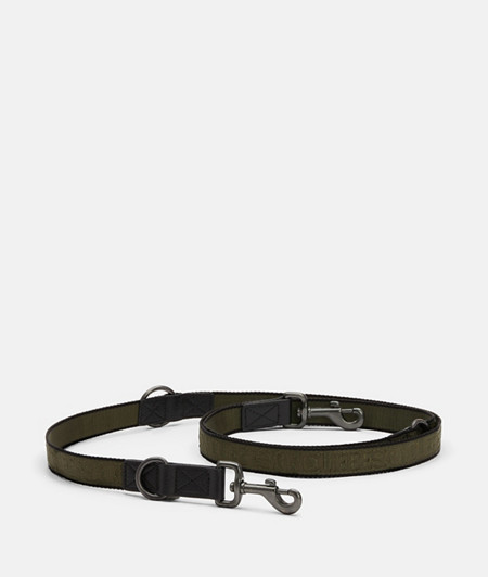 Robust and adjustable dog lead from liebeskind