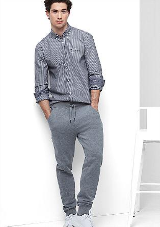 Regular: Hemd mit feiner Struktur