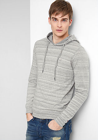 Slim fit hooded top from s.Oliver