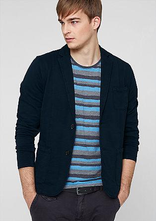 Legeres Sweatshirt-Sakko