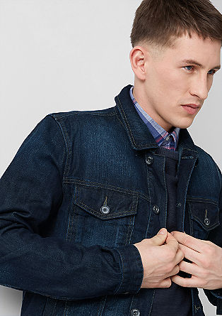 Dark blue denim jacket from s.Oliver