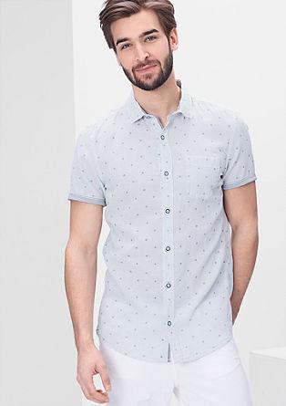 Slim: linen blend shirt from s.Oliver