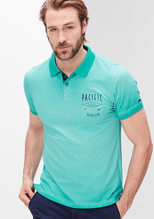 Garment dyed polo shirt from s.Oliver