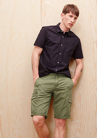 Tubx Regular: ribbed Bermudas from s.Oliver