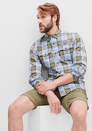 Slim: Hemd mit modischen Details