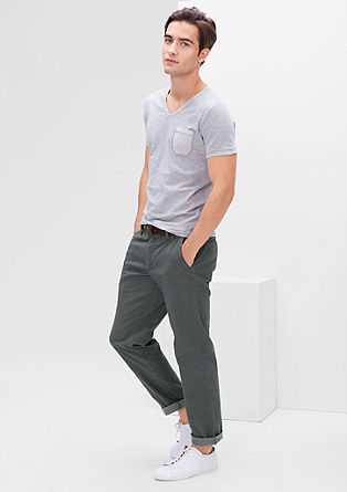 Tubx Regular: Stretch-Chino