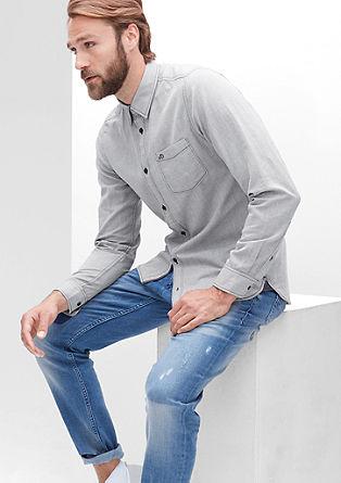 Slim: Schmales Oxford-Hemd