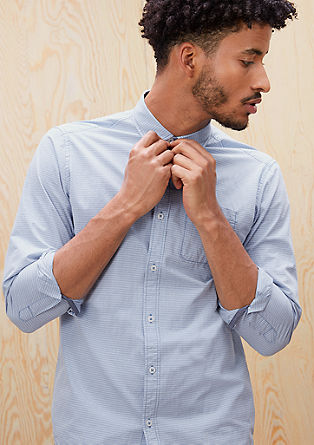 Regular: striped shirt from s.Oliver
