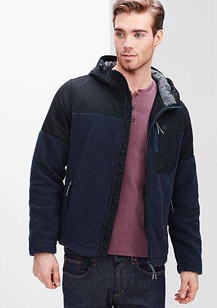 Prehodna jakna iz kombinacije materialov