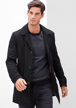 Short coat in a trench coat style from s.Oliver