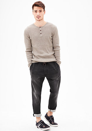 Tubx Jogger: denim-look trousers from s.Oliver