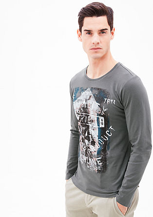 Printshirt aus Jersey