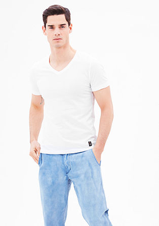 Schmales V-Neck-Shirt