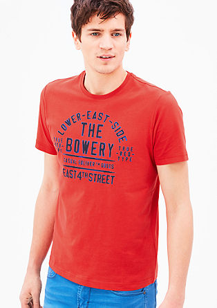 T-Shirt mit Vintage-Print