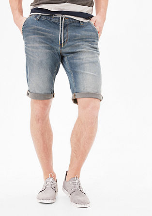 Tubx Chino: denim Bermudas from s.Oliver