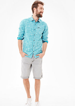 Regular: shirt with fashionable details from s.Oliver