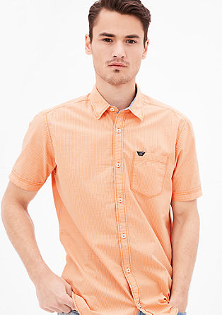 Regular: Poplin short sleeve shirt from s.Oliver