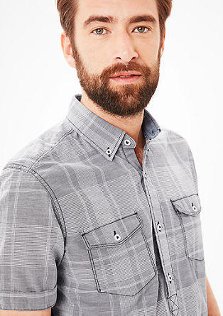 Regular: sporty check shirt from s.Oliver