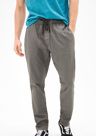 Tubx Regular: Chino tracksuit bottoms from s.Oliver