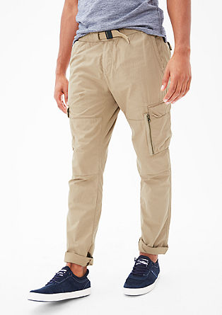Tubx Jogger: lightweight cotton trousers from s.Oliver