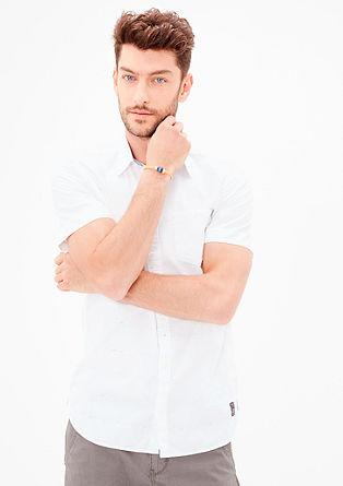 Slim: črtasta srajca s kratkimi rokavi