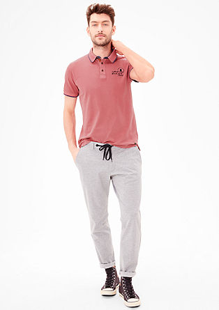 Polo shirt with a washed effect from s.Oliver