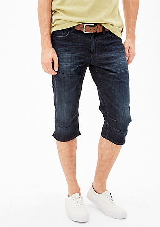 Tubx Straight: Bermudas with a belt from s.Oliver