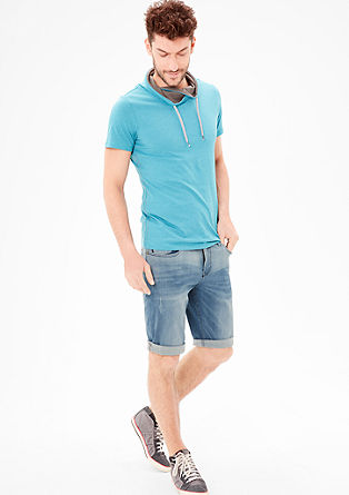 Tubx Straight: super stretch Bermudas from s.Oliver