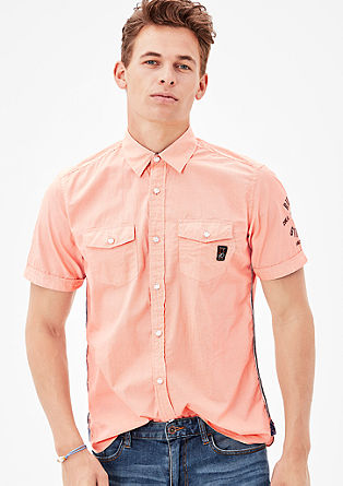 Regular: striped short sleeve shirt from s.Oliver