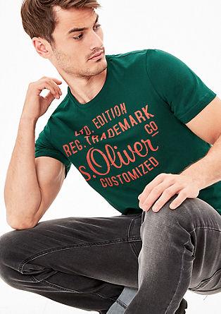 Shirt met s.Oliver signature-print