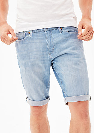 Tubx Straight: Stretchy Bermudas from s.Oliver