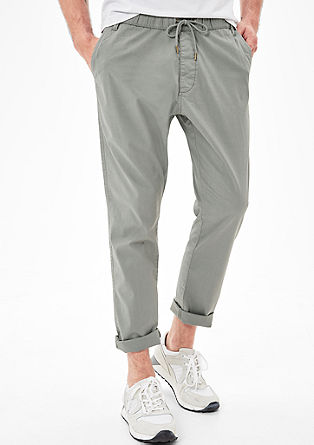 Tubx Jogger: twill chinos from s.Oliver