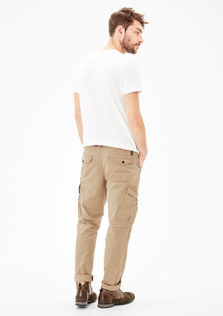 Tubx Regular: chinos with a belt from s.Oliver